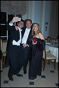 Mattia Bertazzini, Christer Holloman and Pip Coore., Oxford University Polo club Ball, Blenheim Palace. Woodstock. 6 March 2015