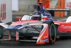 April 28, 2018 - Paris, Ile-de-France, France - Germany's Nick Heidfeld of the Formula E team Mahindra competes during the French stage of the Formula E championship around The Invalides Monument close to The Eiffel Tower in Paris on April 28, 2018. (Credit Image: © Michel Stoupak/NurPhoto via ZUMA Press)