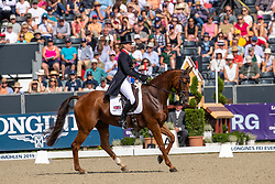 Cook Kristina, GBR, Billy the Red<br /> European Championship Eventing<br /> Luhmuhlen 2019<br /> © Hippo Foto - Dirk Caremans
