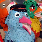 NLD/Hilversum/20070305 - Fotoshoot poppen de Fabeltjeskrant Musical, Gerrit de postbode