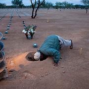 Mike Reyes, veteran's burial, National Memorial Cemetery of Arizona, Phoenix