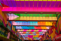Coventry city of culture 2021, World-renowned artist Morag Myerscough has transformed Hertford Street into a artwork photo by Mark Anton Smith