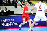 Fredag 1. November 2013 , Hånball , Bring Cup Golden Leauge , Herrer<br /> Norge - Kroatia<br /> Christoffer Rambo - Norge<br /> Foto: Sjur Stølen / Digitalsport