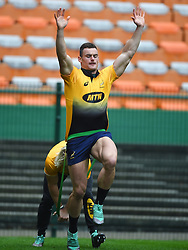 Cape Town-180622 Springbok player Jesse Kriel  having a practice during the captain's run at Newlands.The team will be facing England in their last test game at Newlines stadium.Photographer:Phando Jikelo/African News Agency/ANA
