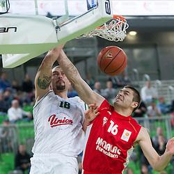 20141101: SLO, Basketball - ABA League 2014/15, KK Union Olimpija vs Metalac Farmakom Valjevo