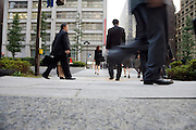 businesspeople walking in the Otemachi district in Tokyo