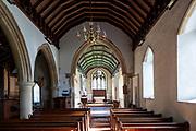 Village parish church Walpole, Suffolk, England, UK