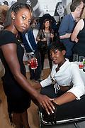 LEONA VERNON; NAOMI ROBINSON, PUMA/London College Of Fashion - private view. London College of Fashion at Carnaby, 65 - 67 Broadwick St, London W1,