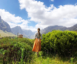 """Candice Swanepoel releases a photo on Instagram with the following caption: """"I go to the hills when my heart is lonely\nI know I will hear what I've heard before\nMy heart will be blessed with the sound of music\nAnd I\u00b4ll sing once more. \ud83e\udd8b @tsibatsibatours"""". Photo Credit: Instagram *** No USA Distribution *** For Editorial Use Only *** Not to be Published in Books or Photo Books ***  Please note: Fees charged by the agency are for the agency's services only, and do not, nor are they intended to, convey to the user any ownership of Copyright or License in the material. The agency does not claim any ownership including but not limited to Copyright or License in the attached material. By publishing this material you expressly agree to indemnify and to hold the agency and its directors, shareholders and employees harmless from any loss, claims, damages, demands, expenses (including legal fees), or any causes of action or allegation against the agency arising out of or connected in any way with publication of the material."""