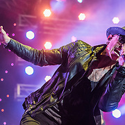 BALTIMORE United States - September 19, 2015: Chester Bennington of Stone Temple Pilots, performs at The Shindig, in Baltimore's historic Carroll Park