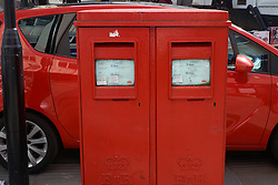 Royal Mail letter box, Wales