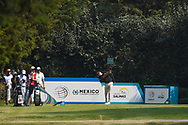 Matthias Schwab (AUT) hits his tee shot on 3 during Rd4 of the World Golf Championships, Mexico, Club De Golf Chapultepec, Mexico City, Mexico. 2/23/2020.<br /> Picture: Golffile   Ken Murray<br /> <br /> <br /> All photo usage must carry mandatory copyright credit (© Golffile   Ken Murray)