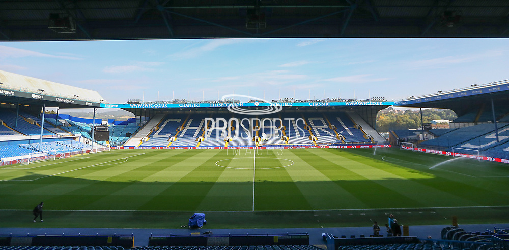 Inside general stadium view before the EFL Sky Bet Championship match between Sheffield Wednesday and Sheffield Utd at Hillsborough, Sheffield, England on 24 September 2017. Photo by Phil Duncan.
