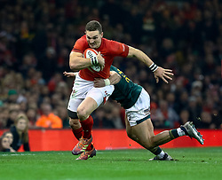 George North of Wales<br /> <br /> Photographer Simon King/Replay Images<br /> <br /> Under Armour Series - Wales v South Africa - Saturday 24th November 2018 - Principality Stadium - Cardiff<br /> <br /> World Copyright © Replay Images . All rights reserved. info@replayimages.co.uk - http://replayimages.co.uk