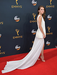 Keri Russell bei der Verleihung der 68. Primetime Emmy Awards in Los Angeles / 180916<br /> <br /> *** 68th Primetime Emmy Awards in Los Angeles, California on September 18th, 2016***