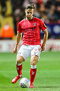 Charlton Athletic defender Adam Matthews (2) during the EFL Sky Bet Championship match between Charlton Athletic and Hull City at The Valley, London, England on 13 December 2019.