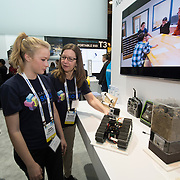 Solve for Tomorrow students booth Samsung CES 2016