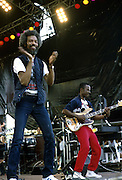 Gil Scott-Heron on stage in the 1980's.© Adrian Boot / Retna/Photoshot.Credit all uses