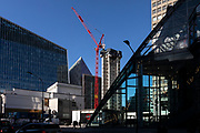 N2, Nova East core under construction. Victoria. London. UK. February 2021<br /> <br /> Photo by Zute Lightfoot of behalf of Land Securities.