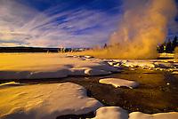 Fountain Paint Pot, Yellowstone National Park, Wyoming USA