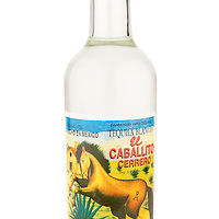 El Caballito Cerrero Blanco Tequila -- Image originally appeared in the Tequila Matchmaker: http://tequilamatchmaker.com