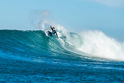 Griffin Colapinto (USA) is eliminated from the 2018 Corona Open J-Bay after placing third in Heat 4 of Round 4 at Supertubes, Jeffreys Bay, South Africa.