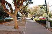 Tel Aviv Israel, David Ben Gurion Boulevard