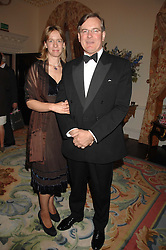 CAPT.ASHE & ARABELLA WINDHAM at a pub style quiz night in aid of Rapt at Willaim Kent House, The Ritz, London on 25th June 2006.  The questions were composed by Judith Keppel and the winning team won £1000 to donate to a charity of their choice.<br /><br />NON EXCLUSIVE - WORLD RIGHTS