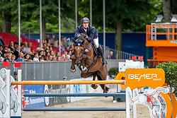 SCHULZE NIEHUES Jan Andre (GER), FITCH<br /> Münster - Turnier der Sieger 2019<br /> BRINKHOFF'S NO. 1 -  Preis<br /> CSI4* - Int. Jumping competition  (1.50 m) -<br /> 1. Qualifikation Grosse Tour <br /> Large Tour<br /> 02. August 2019<br /> © www.sportfotos-lafrentz.de/Stefan Lafrentz