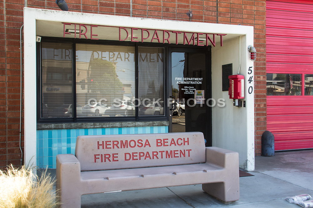 Hermosa Beach Fire Department Administration  Front Entrance