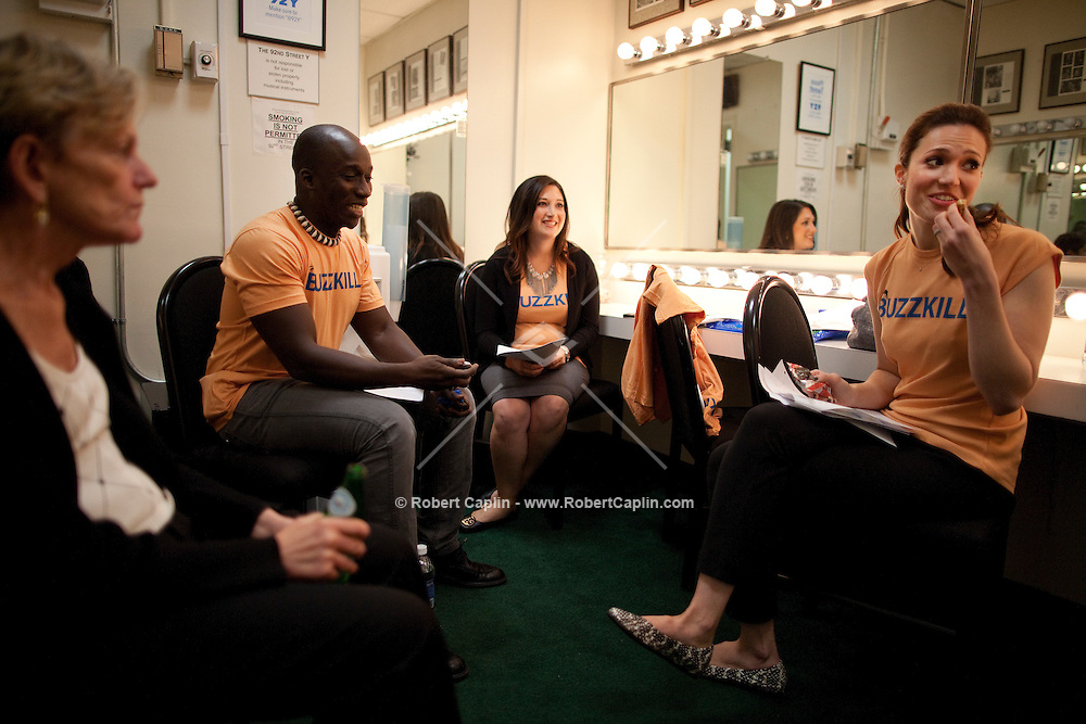 """Randi Zuckerberg backstage at the 92nd Street Y prior to speaking on the topic of Malaria at a Social Good Summit """"Town Hall"""" with Mandy Moore in New York.   ...Photo by Robert Caplin."""