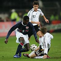 Fotball 22. mars 2006 , Tyskland - USA <br /> v.l. Eddie Johnson , Sebastian Keh , Philipp Lahm Deutschland<br />  Norway only