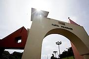 Curitiba_PR, Brasil...Portal do Santa Felicidade, polo gastronomico da cidade de Curitiba, Parana...Santa Felicidade Portal in Curitiba, Parana...Foto: BRUNO MAGALHAES / NITRO