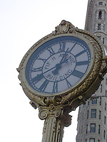 Fifth Ave Clock, New York<br />
