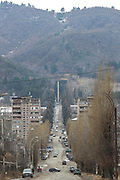 A general view of the city centre of Vanadzor on Sunday, Jan 16, 2021. It is the third-largest city in Armenia, serving as the capital of Lori Province in the northern part of the country. It is located about 128 kilometres north of the capital Yerevan. (Photo/ Vudi Xhymshiti)