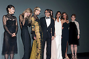Rinko Kikuchi, Malgosia Bela, Natasha Poly, Mario Sorrenti, Isabeli Fontana, Joan Smalls, Margareth Made, Julianne Moore, The Global launch of the 2012 Pirelli Calendar by Mario Sorrenti.  Dinner at the Park Avenue Armory. Manhattan. 6 December 2011.