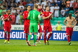 Joe Hart of England during the EURO 2016 Qualifier Group E match between Slovenia and England at SRC Stozice on June 14, 2015 in Ljubljana, Slovenia. Photo by Grega Valancic