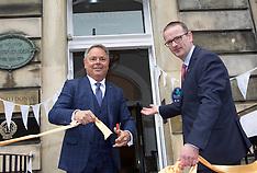 Luxury hotel Nira Caledonia reopens after devastating fire, Edinburgh, 24 May 2018