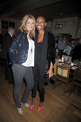 Left to right, SUSANNAH CONSTANTINE and SKIN at a dinner in aid of the Soil Association held at Bumpkin, 102 Old Brompton Road, London SW7 on 11th March 2009.