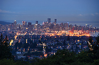 Vancouver Skyline from Burnaby Mountain