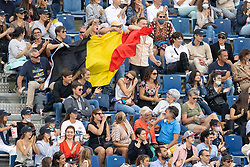 Team Belgium supporters<br /> Longines FEI Jumping Nations Cup Final<br /> Barcelona 2021<br /> © Hippo Foto - Dirk Caremans<br />  03/10/2021