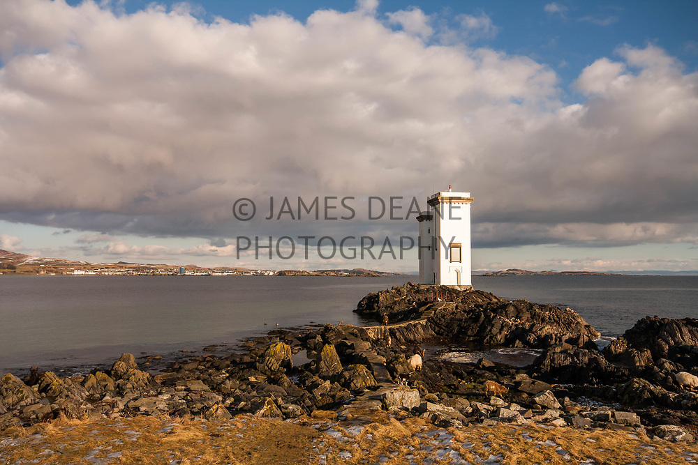 Port Ellen Lighthouse on the Isle of Islay
