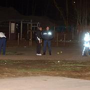 Schietpartij woonwagenkamp Noordersingel Eemnes, , sporenonderzoek politie, tecnische recherche,