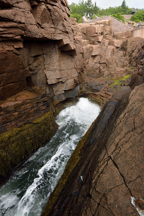 Thunder Hole, Acadia National Park, Maine USA.