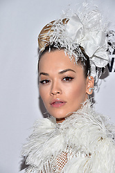 Rita Ora attends the Clive Davis and Recording Academy Pre-GRAMMY Gala and GRAMMY Salute to Industry Icons Honoring Jay-Z on January 27, 2018 in New York City.. Photo by Lionel Hahn/ABACAPRESS.COM