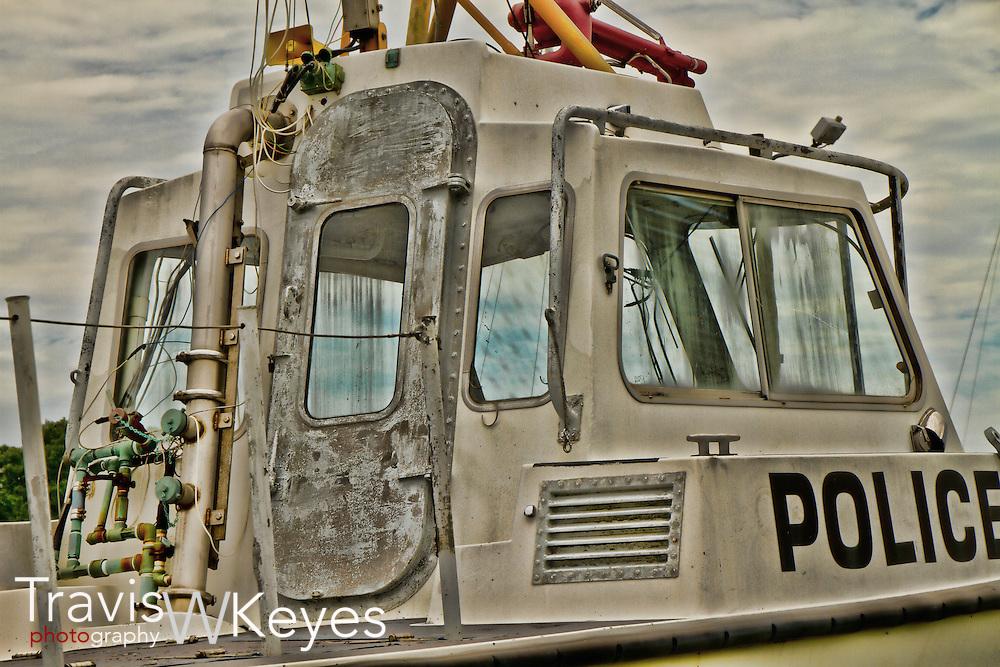 Old Police Boat