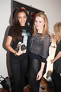 AMAL FASHANU; AMBER ATHERTON, Casio Tokyo Trio Watch  launch party  hosted by My Flash Trash. The Study, 10a Blandford Street, London. 28 January 2013