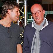 NLD/Hilversum/20110126 - Interview 3 J's tijdens Tros Gouden Uren, Jaap Kwakman in gesprek met Daniel Dekker