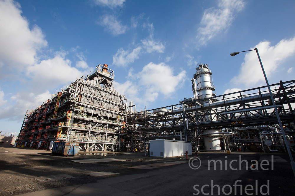 KG cracker plant at the Grangemouth refinery. The Sun had access to the plant for a 'year on' tale (last year the plant closed following strike action - this is an update piece).