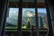 The comfortable Hotel Alpha Soleil, in Kandersteg, canton of Bern, Switzerland, the Alps, Europe.